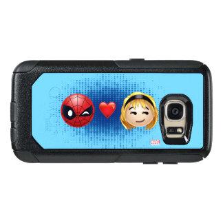 Spider-Man & Gwen Heart Emoji OtterBox Samsung Galaxy S7 Case