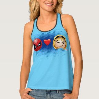 Spider-Man & Gwen Heart Emoji Singlet