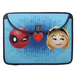 Spider-Man & Gwen Heart Emoji Sleeve For MacBooks