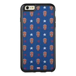 Spider-Man Head and Stars Pattern OtterBox iPhone 6/6s Plus Case