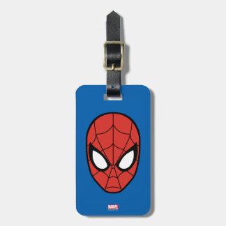 Spider-Man Head Icon Luggage Tag