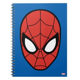 Spider-Man Head Icon Note Book