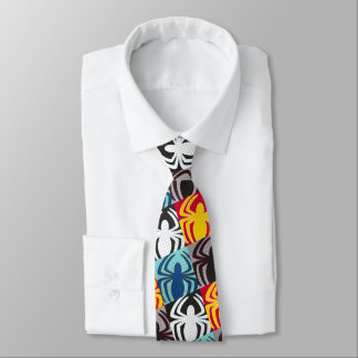 Spider-Man Icon Pattern Tie