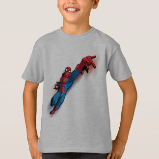 Spider-Man In Abstract City T-Shirt