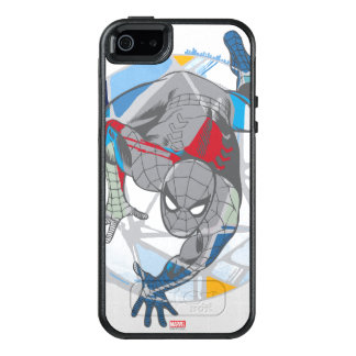 Spider-Man In Kaleidoscope Web OtterBox iPhone 5/5s/SE Case