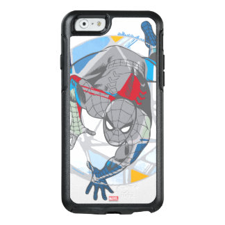 Spider-Man In Kaleidoscope Web OtterBox iPhone 6/6s Case