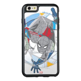 Spider-Man In Kaleidoscope Web OtterBox iPhone 6/6s Plus Case