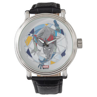 Spider-Man In Kaleidoscope Web Watch
