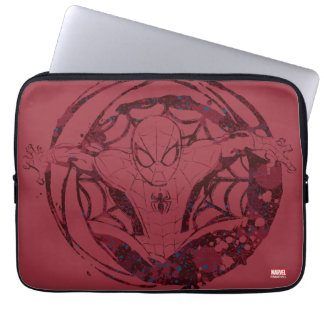 Spider-Man In Web Graphic Laptop Computer Sleeves