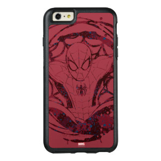 Spider-Man In Web Graphic OtterBox iPhone 6/6s Plus Case