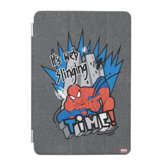 Spider-Man It's Web Slinging Time iPad Mini Cover