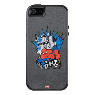 Spider-Man It's Web Slinging Time OtterBox iPhone 5/5s/SE Case