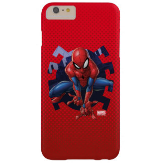 Spider-Man Leaping Out Of Spider Graphic Barely There iPhone 6 Plus Case