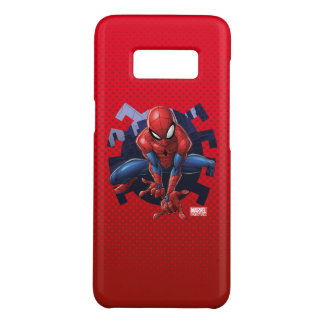 Spider-Man Leaping Out Of Spider Graphic Case-Mate Samsung Galaxy S8 Case