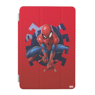 Spider-Man Leaping Out Of Spider Graphic iPad Mini Cover
