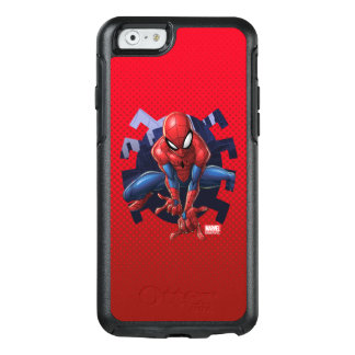 Spider-Man Leaping Out Of Spider Graphic OtterBox iPhone 6/6s Case