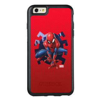 Spider-Man Leaping Out Of Spider Graphic OtterBox iPhone 6/6s Plus Case