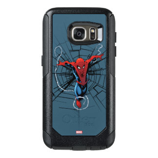 Spider-Man Leaping With Webbing OtterBox Samsung Galaxy S7 Case