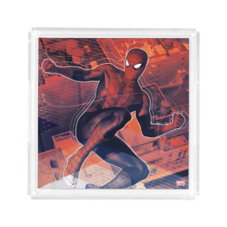 Spider-Man Mid-Air Spidey Sense Acrylic Tray