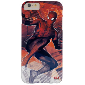 Spider-Man Mid-Air Spidey Sense Barely There iPhone 6 Plus Case