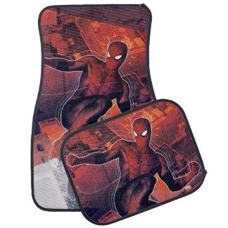 Spider-Man Mid-Air Spidey Sense Car Mat