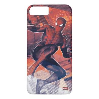 Spider-Man Mid-Air Spidey Sense iPhone 8 Plus/7 Plus Case