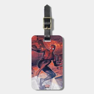Spider-Man Mid-Air Spidey Sense Luggage Tag