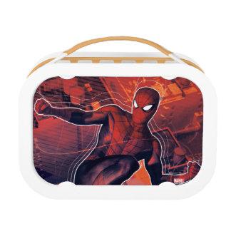 Spider-Man Mid-Air Spidey Sense Lunch Box