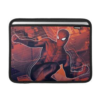 Spider-Man Mid-Air Spidey Sense MacBook Sleeve