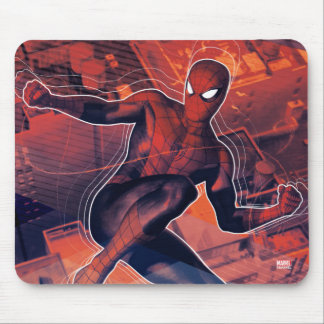 Spider-Man Mid-Air Spidey Sense Mouse Pad