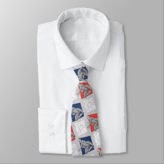 Spider-Man Name and Sketch Pattern Tie