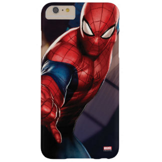 Spider-Man On Skyscraper Barely There iPhone 6 Plus Case