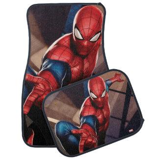Spider-Man On Skyscraper Car Mat