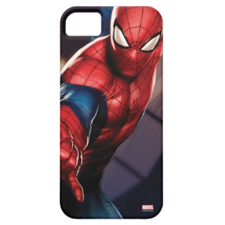 Spider-Man On Skyscraper iPhone 5 Case