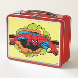 Spider-Man Retro Crawl Metal Lunch Box