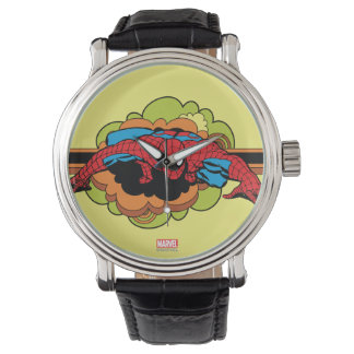 Spider-Man Retro Crawl Watch