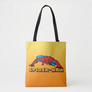 Spider-Man Retro Crouch Tote Bag