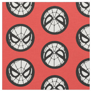 Spider-Man Retro Icon Fabric
