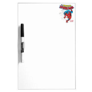 Spider-Man Retro Price Graphic Dry Erase Board
