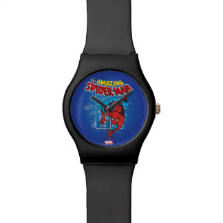 Spider-Man Retro Price Graphic Watch