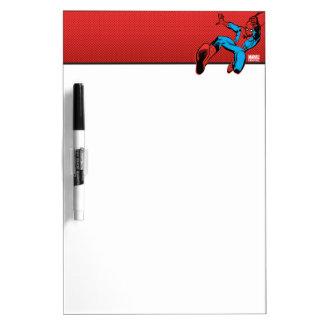 Spider-Man Retro Swinging Kick Dry Erase Board