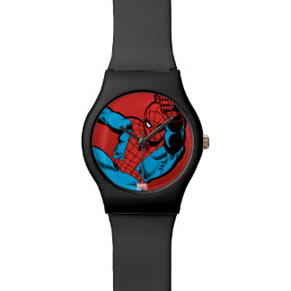 Spider-Man Retro Swinging Kick Watch