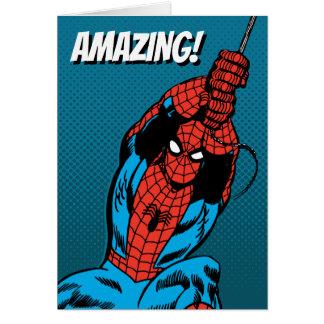 Spider-Man Retro Web Swing Card