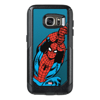 Spider-Man Retro Web Swing OtterBox Samsung Galaxy S7 Case