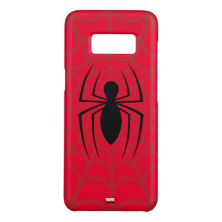 Spider-Man Skinny Spider Logo Case-Mate Samsung Galaxy S8 Case