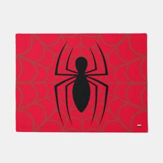 Spider-Man Skinny Spider Logo Doormat