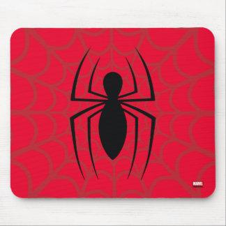 Spider-Man Skinny Spider Logo Mouse Pad