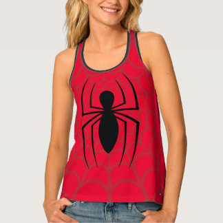 Spider-Man Skinny Spider Logo Singlet