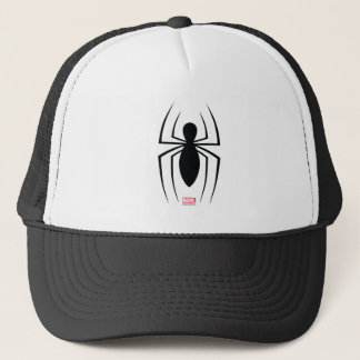 Spider-Man Skinny Spider Logo Trucker Hat
