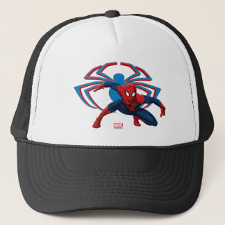 Spider-Man & Spider Character Art Trucker Hat